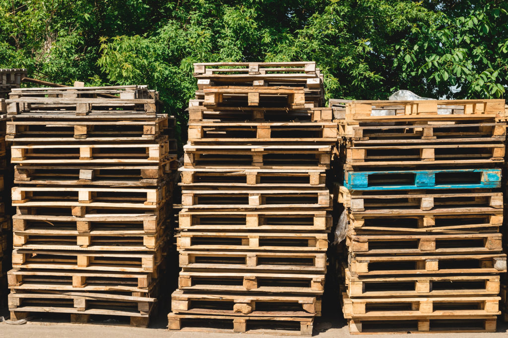 GMA pallet grades are given to wood pallets.