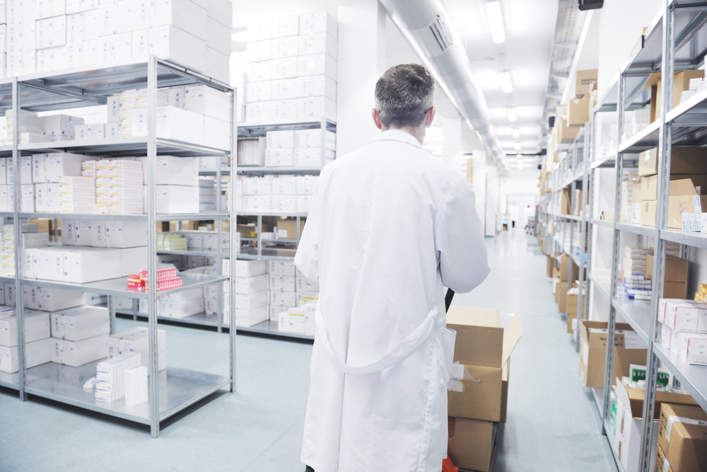 Pharmaceutical warehouse requirements focus on drug safety.