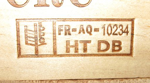 An IPPC stamp is a pallet requirement for exporting goods