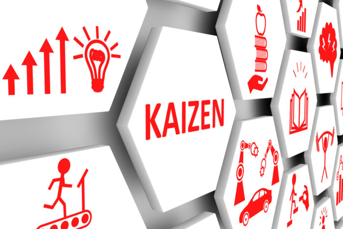 Kaizen strategies in the warehouse can streamline processes.