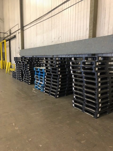 Pooled plastic pallets don't have to be disposed of