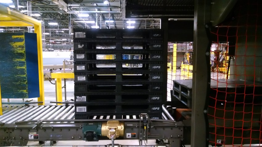 Plastic pallets improve automated storage and retrieval system safety