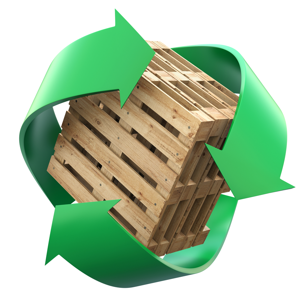 Recycling is one way to dispose of pallets