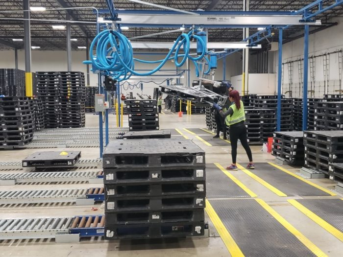 Plastic pallet pooling is one example of a truly circular supply chain.