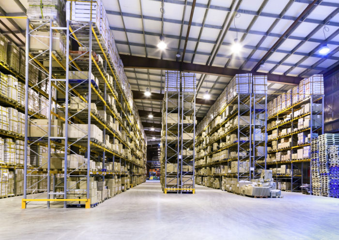 Vertical pallet racks can increase available warehouse space