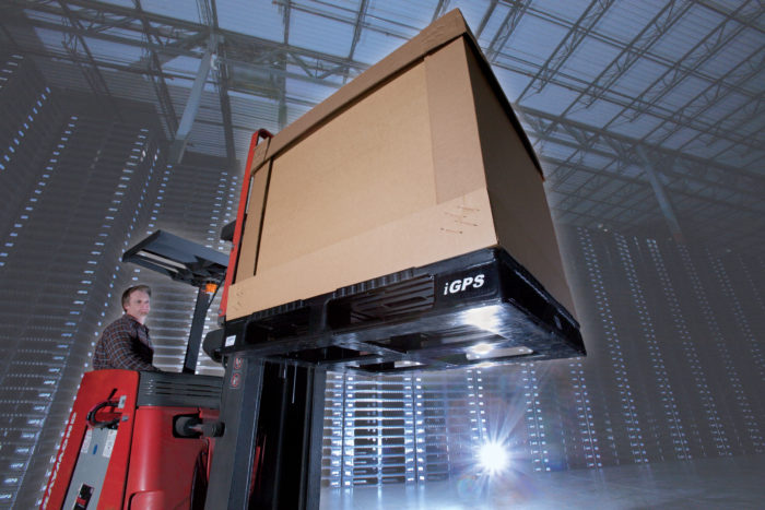 Plastic pallet support efficiency in the cold chain