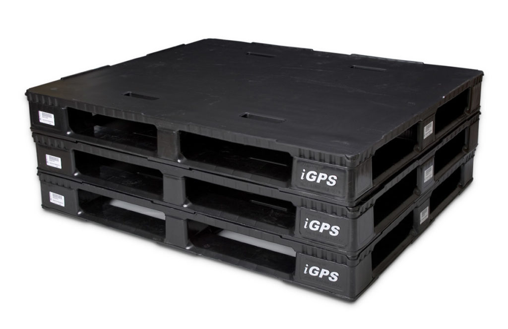 Plastic pallets provide more stability to lessen the use of plastic wrap