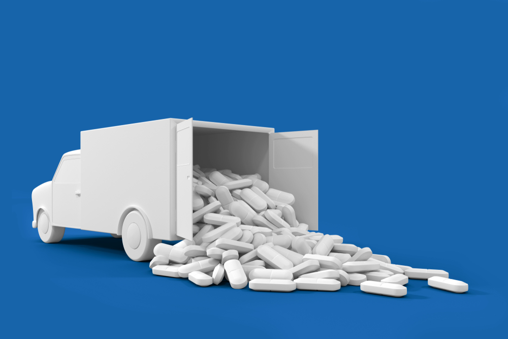 Pharmaceutical shipping regulations are covered by the FDA.