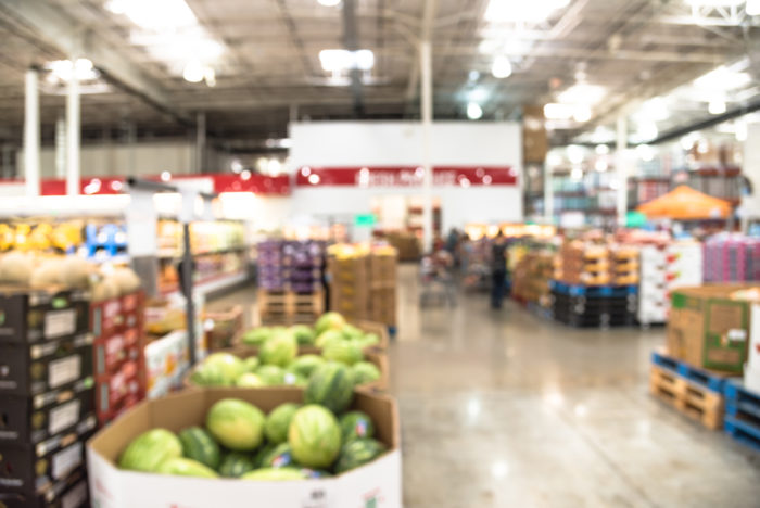 Retailers at the end of the food supply chain.