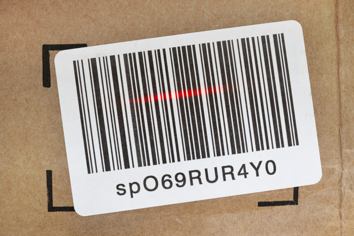 Bar codes have traditionally been used in tagging pallet loads.