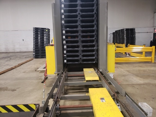 Plastic pallets are durable and easy to use within a pooling program.