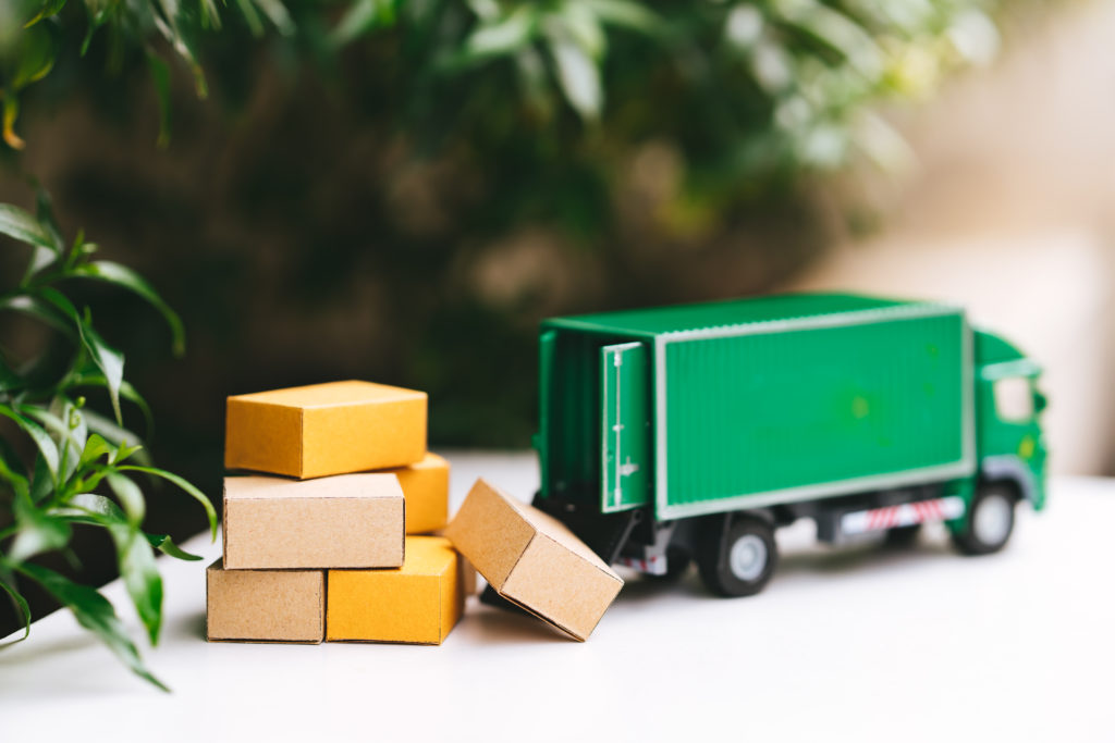 transport model shows environmental impact of logistics